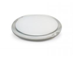 Plastové dvojité zrcátko BOGGY - transparentní