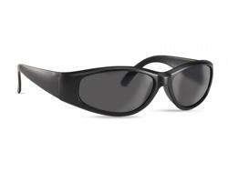Plastové sluneční brýle LAXLY s UV ochranou - černá