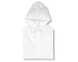 Pláštěnka DEETTA s kapucí - bílá
