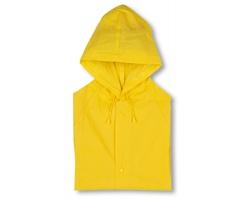 Pláštěnka DEETTA s kapucí - žlutá