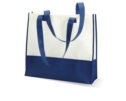 Netkaná plážová/nákupní taška LEESA - modrá