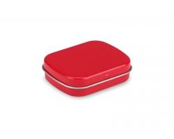 Plechovka s mentolkami WHITY, 28g - červená