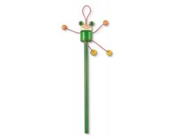 Dřevěná tužka WENDY s figurkou - zelená