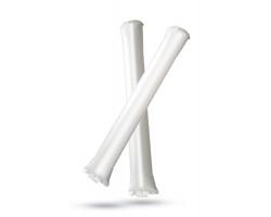 Plastové nafukovací tyče CYNTHIA k fandění - bílá