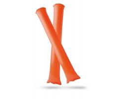 Plastové nafukovací tyče CYNTHIA k fandění - oranžová