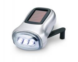 Ekologická dynamo svítilna GENIE - matně stříbrná