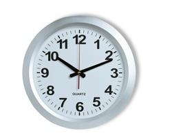 Nástěnné hodiny TAWED - stříbrná