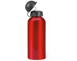 Kovová láhev MOSE na pití, 600ml - červená