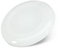 Plastové frisbee NEDA, 23 cm - bílá