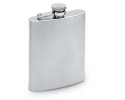 Úzká likérka BOAST, 200ml - matně stříbrná