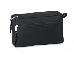 Kosmetická taška z recyklovaného materiálu ALMS - černá