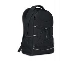Vycházkový batoh BLANK z RPET materiálu - černá