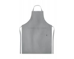 Kuchyňská zástěra z konopí WAXY - šedá