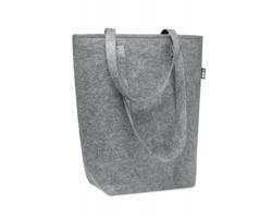 Plstěná nákupní taška PARADE z RPET materiálu - šedá