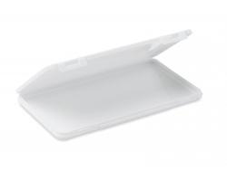 Plastové pouzdro na roušky HERTZ - bílá