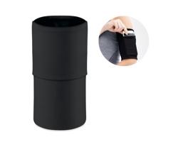 Polyesterové běžecké pouzdro na telefon MAREY - černá