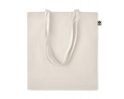 Látková nákupní taška HOPS z bio bavlny - béžová