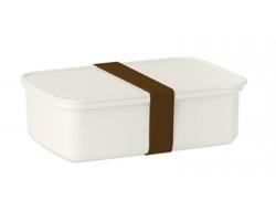 Obědová krabička SEPTA z bambusu a kukuřice - hnědá