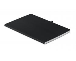 Linkovaný zápisník HENS s měkkými deskami, A5 - černá