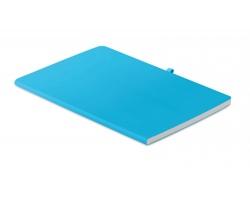 Linkovaný zápisník HENS s měkkými deskami, A5 - tyrkysová