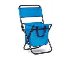 Skládací židlička IGLOO s chladicím úložným prostorem - královská modrá