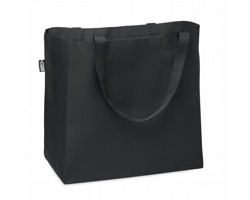 Velká nákupní taška KAGUS z recyklovaného materiálu - černá