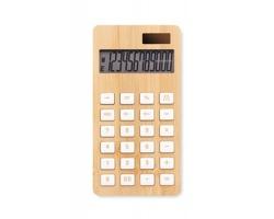 Plastová kalkulačka ASSAYS s bambusovým povrchem - dřevěná
