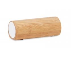 Bambusový bezdrátový reproduktor PIMENTO - dřevěná