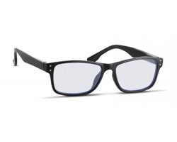 Brýle na práci s počítačem YOBS s pouzdrem - černá