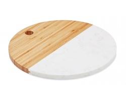 Kombinovaný servírovací talíř ARDITH - dřevěná