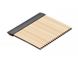 Bambusová škrabka na led DEVORAH - dřevěná
