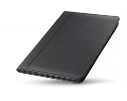 Kožené konferenční desky A4 EFREN - černá