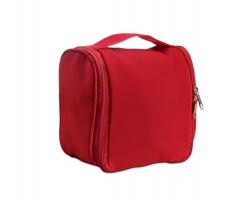 Závěsná kosmetická taška MAURA - červená