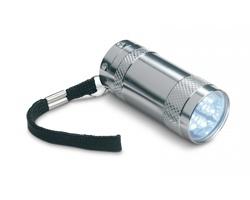 Kovová mini svítilna OGLED - matně stříbrná