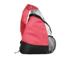Batoh TRIANGLE ve tvaru trojuhelníku - červená