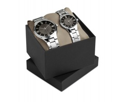 Sada dámských a pánských hodinek ZACK - černá