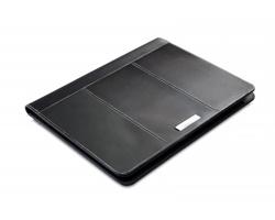 Kožené konferenční desky TRUGS, formát A4 - černá