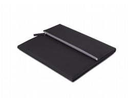 Konferenční desky A4 MERCER s kapsou na zip - černá