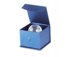 Skleněné těžítko FELIX ve tvaru globusu - transparentní