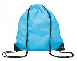 Polyesterový batoh FLETA na záda - tyrkysová