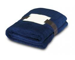 Fleecová přikrývka RAINA - modrá