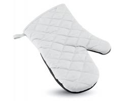 Pogumovaná kuchyňská rukavice BOERS - bílá