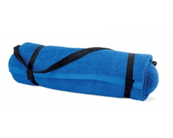 Bavlněný plážový ručník  IRVINE s polštářem, 350g - královská modrá