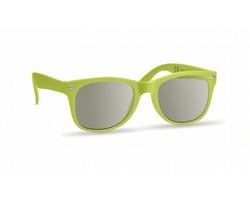 Sluneční brýle POGGE s UV ochranou - limetková