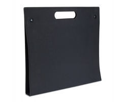Ekologické papírové desky BOLD se sadou kancelářských pomůcek - černá