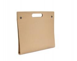 Ekologické papírové desky BOLD se sadou kancelářských pomůcek - béžová