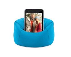 Měkký stojánek na mobil FORAGE - modrá
