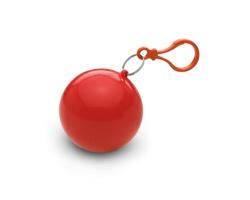 Plastová pláštěnka TOOT v obalu - červená