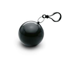 Plastová pláštěnka TOOT v obalu - černá