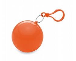Plastová pláštěnka TOOT v obalu - oranžová